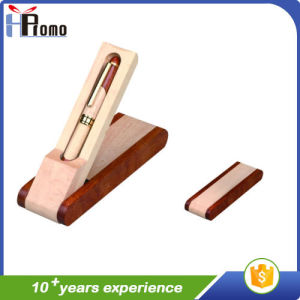 Wooden Pen Box with 1 Pen for Promotion pictures & photos