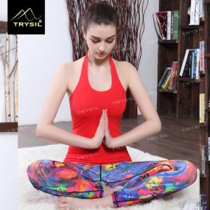 Girls Sexy Tank Top Women Yoga Vests Gym Stinger for Female pictures & photos