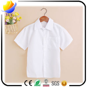 Purified Cotton Children′s T-Shirts with Customized Logo Color pictures & photos
