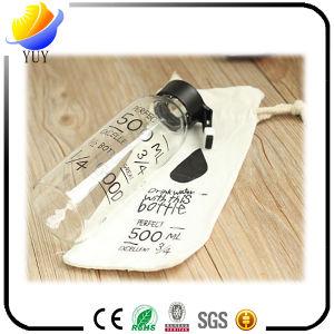 Customized Logo Fashion Convenient Clear Glass Bottle pictures & photos