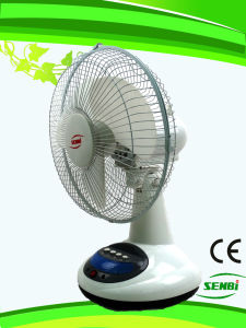 12 Inches Rechargeable Table Fan (FT-30DC-RD) pictures & photos