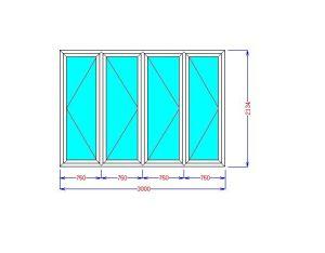 Customized High Quality Aluminum Folding Door pictures & photos