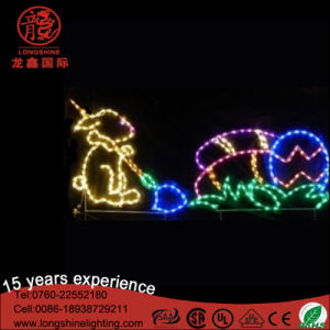 LED Easter Bunny Rabbit Motif Lamp Decoration Light pictures & photos