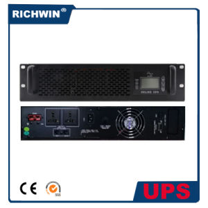 6000va Pure Sine Wave Online Rack Mount UPS with Battery pictures & photos