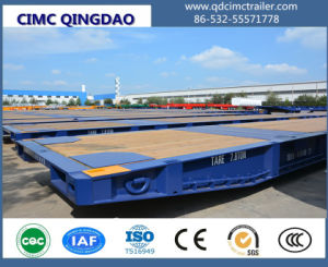 40FT Flatbed Container Gooseneck Roll Mafi Trailer pictures & photos