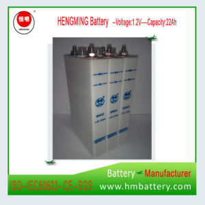 Nickel Cadmium Rechargeable Battery Gn/Kpl Series (Ni-CD 1.2VDC 22ah Battery pictures & photos