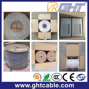 Network Cable/LAN Cable UTP Cat6e Cable with Two Power Cable pictures & photos