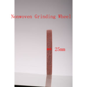 "4""X1"" 9p Abrasive Non Woven Polishing Wire Drawing Surface Conditioning Wheels pictures & photos"