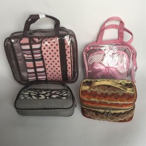 Popular Promotion Cosmetic Bag Sets pictures & photos