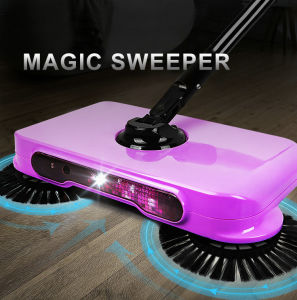 Magic Sweeper 2017 New Arrival 360 Rotary Home Use Magic Manual Telescopic Floor Dust Sweeper pictures & photos