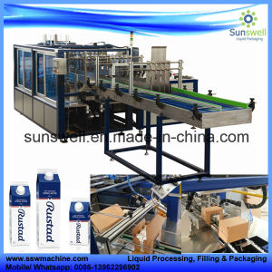 Carton Milk Case Packing Machine pictures & photos