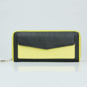 fashion Women Clutch Purse Genuine Leather Wallet pictures & photos