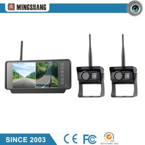 7-Inch 2CH Wireless System with IP69k Car Rear View Camera for Truck Use pictures & photos