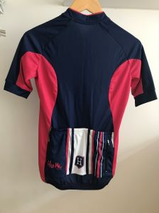 Custom Unisex Cycling Jersey with Backside Pocket pictures & photos
