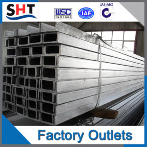 Cold Rolled Steel Channel Bar/U-Bar/U Steel Price pictures & photos