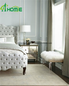 Modern Elegant Clear Pure Bedroom Vanity Mirrored Multi Drawers Bedside Chest pictures & photos