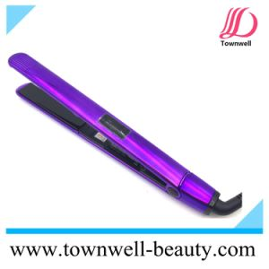 Electroplating Purple Long Plates Slim Mch Fast Heat up Ceramic Hair Straightener Wholesale pictures & photos