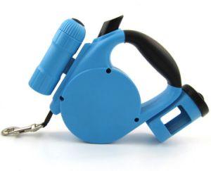 Unique 16FT Retractable Dog Leash with LED/Waste Dispenser pictures & photos
