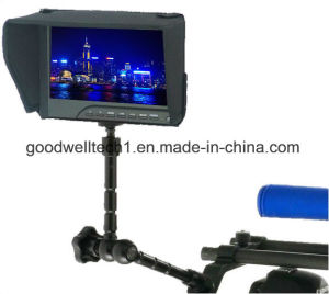 "7""LCD Monitor with Peaking Filter, 400CD. M2 Brightness pictures & photos"