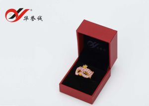 Red Color Plastic Jewelry Box Set for jewelry Packaging pictures & photos