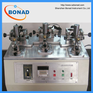 En50075 Figure 9 Insulation Sleeves Abrasion Test Apparatus for Plug Pin pictures & photos