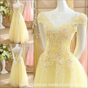 Custom Prom Party Gowns Real Beading Evening Dresses Z9049 pictures & photos