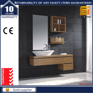 High Quality Solid Wood Wall Mounted Bathroom Vanity Cabinet pictures & photos