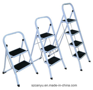 Excellent Quality Accept OEM/ODM Aluminium Alloy Step Ladder pictures & photos
