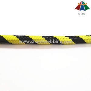 High Quality 10mm Multi Color Warning Style Nylon / Polyester / PP Braided Rope / Cord pictures & photos