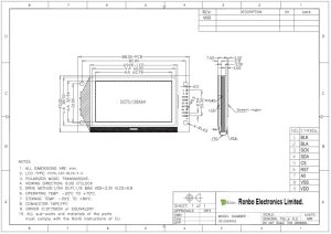 128X64 Spi Graphic LCD Display, St7565r, 9pin for POS, Doorbell, Medical, Cars pictures & photos