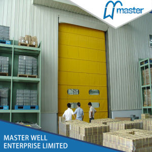 PVC High Speed Door with Steel Frame/ Logistic PVC Rolling Door with Customized Size pictures & photos