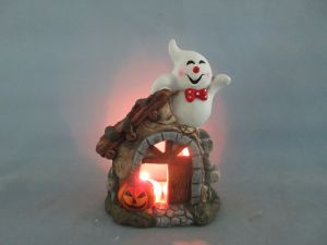 Halloween Pumpkin Ceramic Arts and Crafts (LOE2683-18z) pictures & photos