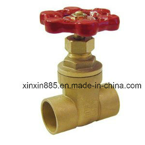 Brass Gate Valve with Solder End pictures & photos