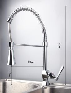 Hot Sale Single Handle Sanitary Ware Brass Kitchen Faucet pictures & photos