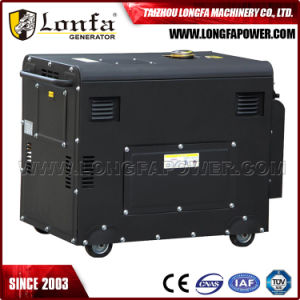 5kw/6.5kVA Air Cooled Silent Diesel Generator with Double Circuit Breaker pictures & photos