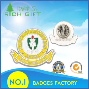 Wholesale Iron Stamped Military Engraving Fabric Face Badge with Soft Enamel pictures & photos