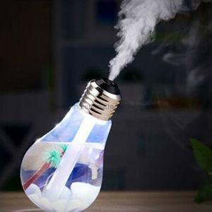 Ultrasonic Micropore Atomization Air Humidifier Seven-Color Light Bulb Humidifier pictures & photos