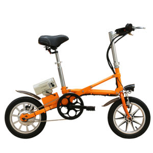 16 or 14 Inch Folding Bike/Electric Bicycle/Bike with Battery/Aluminum Alloy E-Bike/Variable Speed Bicycle pictures & photos