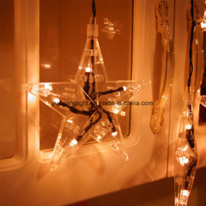 8 Function Control Modes 60LED Star Curtain Light LED Waterfall Light pictures & photos