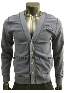 High-Quality New Style Leisure Jacket for Men with Garment Dye pictures & photos