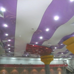 Low-Cost Ceiling Decors PVC Printing Soft Film pictures & photos
