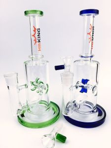 Best Price Inline Windmill Percolator Glass Smoking Water Pipe pictures & photos
