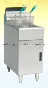 Floor Model Stainless Steel Commercial Gas Fryer pictures & photos