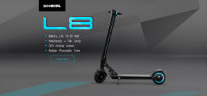 2017 Newest Hot Sale Koowheel Patent Innovative Fashionable Design Electric Scooter L8 pictures & photos