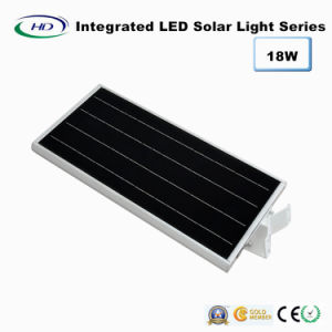18W PIR Sensor Integrated LED Solar Garden Light pictures & photos