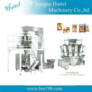 Full-Automatic Vertical Packing Machine with Scale pictures & photos