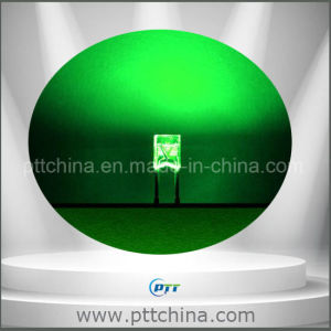 Green Color 234 LED, Square LED 234, DIP 234 LED, 520-525nm, 1000-1200mcd pictures & photos