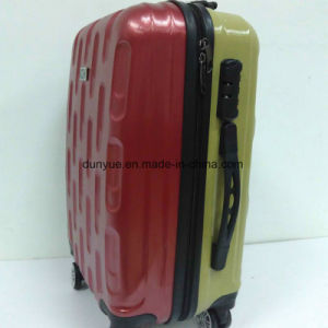 "New Design Two Side Different Colour 20"", 24"", 28"" PC Material Hard Cover Luggage Case, Custom Make Low MOQ Trolley Bag pictures & photos"