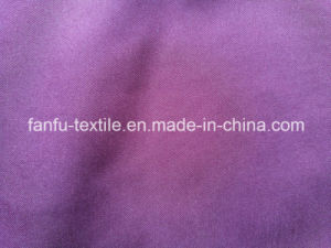 320t 2/1 Twill 65D/192f Polyester Pongee pictures & photos