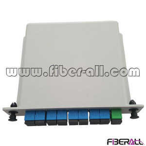 1X8 Fiber Optical PLC Splitter in Lgx Box pictures & photos